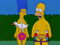 The Simpsons. Natural Born Kissers.png